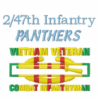 2/47th Inf. Vietnam Vet Combat Infantryman Shirt