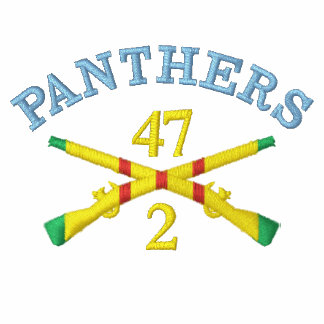2/47th Inf. VSM Crossed Rifles 9th ID Patch Shirt