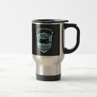 2/47th Infantry  Crest & Patches Mug