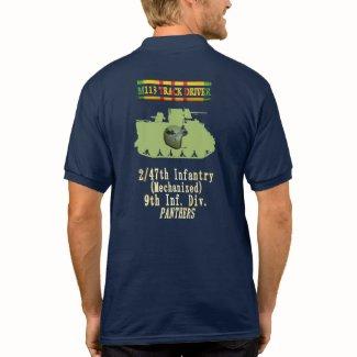2/47th Infantry M113 Track Driver CIB Shirt