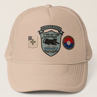 2/47th Infantry New Panthers Patch Cap