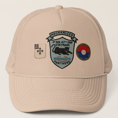 247th Infantry New Panthers Patch Cap