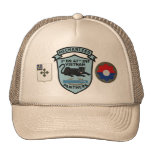 2/47th Infantry New Panthers Patch Cap Mesh Hats