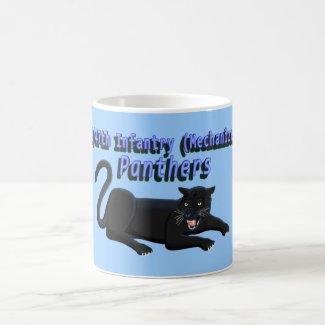 2/47th Infantry Panther Mascot Mug