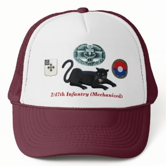 "2/47th Infantry ""Panthers"" CMB Hat"
