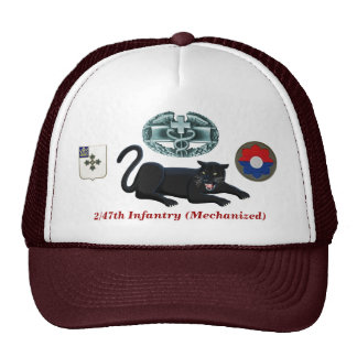 """2/47th Infantry """"Panthers"""" CMB Hat"""