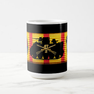 2/47th Infantry Vietnam Service Ribbon Mug
