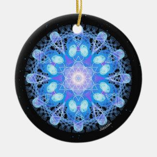 2/5 Chakra Color Complement Ceramic Ornament