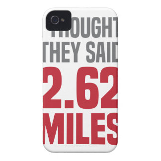 2.62 Miles iPhone 4 Cover