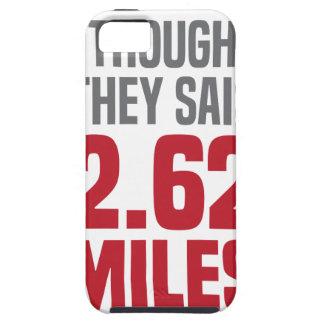 2.62 Miles iPhone SE/5/5s Case
