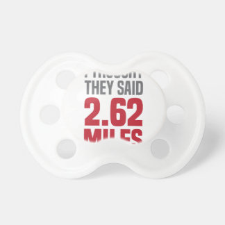 2.62 Miles Pacifier