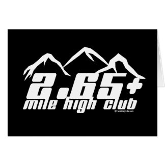 2.65+ Mile High Club Card