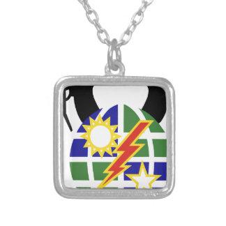 2-75 Ranger Square Pendant Necklace