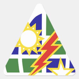 2-75 Ranger Triangle Sticker
