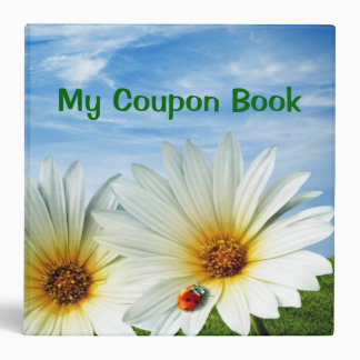 "2.8"" Coupon Book Binder"