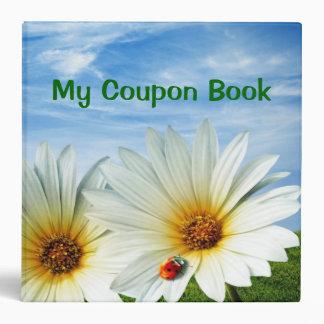 """2.8"""" Coupon Book Binder"""