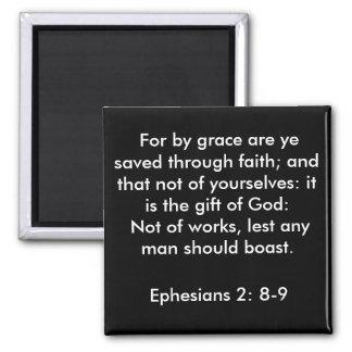 2:8 de Ephesians - imán 9
