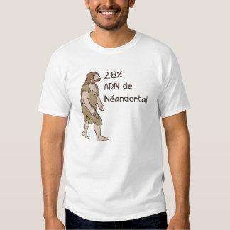 2,8% Francés del Neanderthal Polera