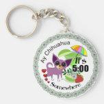 $2.95  Ay Chihuahua Margarita Key Keeper Key Chains