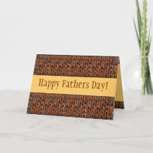 $2.95 Myriad Buddha Fathers Day Card - Fathers are Wisdom, Fathers are Protection, Fathers are Love set to Music. Happy Fathers Day.