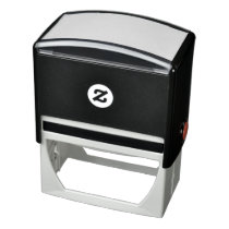 "2.9"" x 1.4"" Self Inking Rubber Stamp"