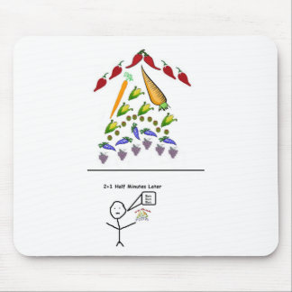 2 And 1 Half Minute Hot Veggies Mouse Pad