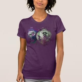 2 and 8 Billiard Balls abstract T-Shirt
