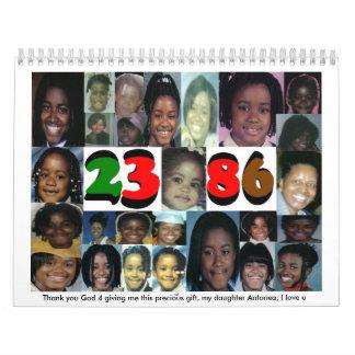 #2 Annie' imágenes de s., gracias dios 4 m de Calendario De Pared