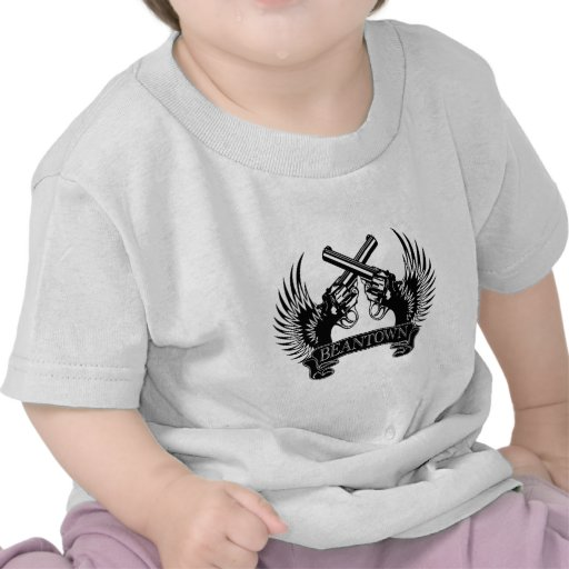 2 armas suben Beantown Camisetas