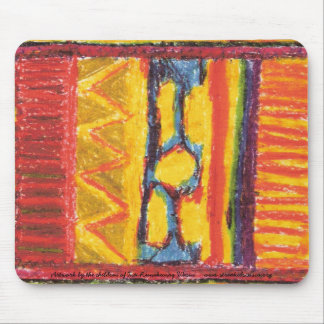 2, Artwork by the children of Inti Runakunaq Wa... Mouse Pads