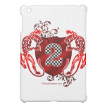 2 auto racing number tigers iPad mini cases