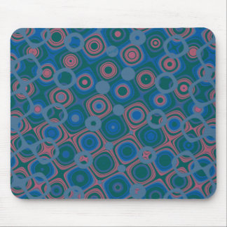 '2' azul marino manchado tapete de ratones