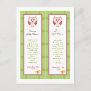 bookmark invitations zazzle