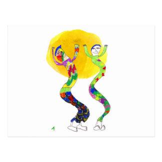 2 bailarines que bailan en el Sun Postal