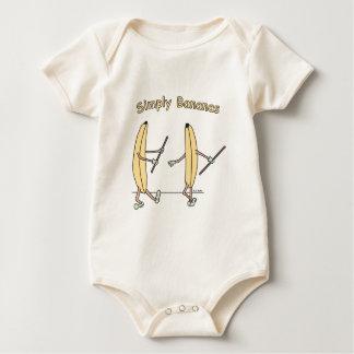 2 Bananas Baby Bodysuit