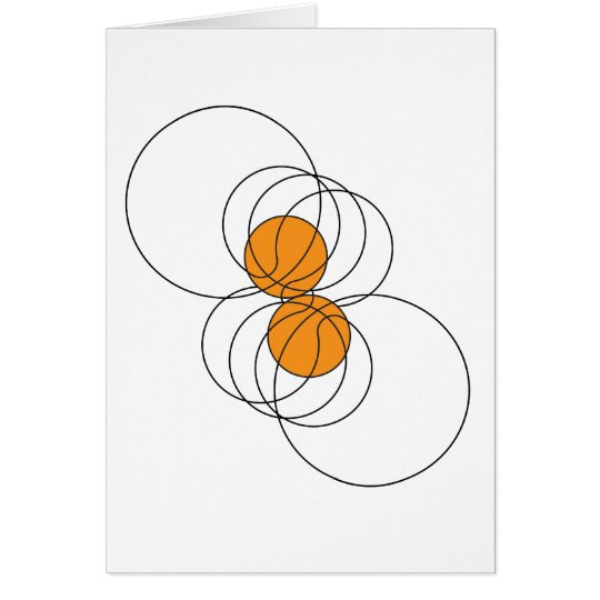2 Basketball Pattern Card