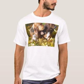 2 bassets.png T-Shirt