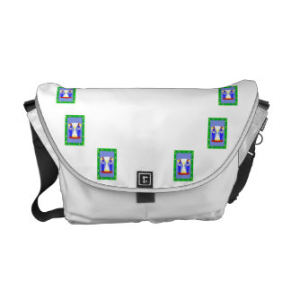 2 belly dancers and an hour glass.png messenger bags