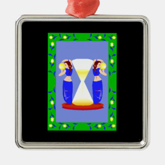 2 belly dancers and an hour glass.png ornaments