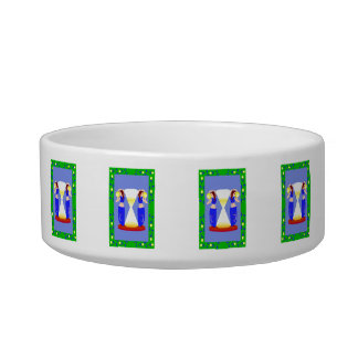 2 belly dancers and an hour glass.png cat food bowls