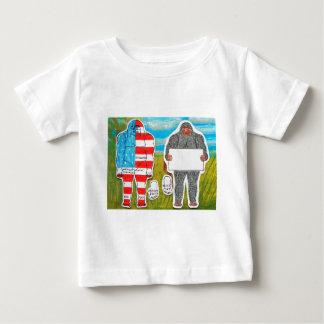 2 big foot A,text & flag,in Everglades..JPG T-shirt