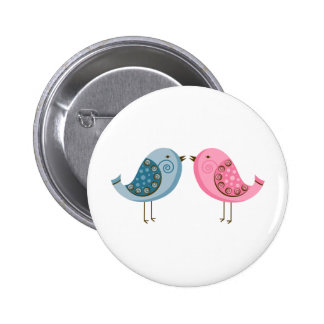 2 Birds Pinback Button