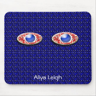 2 Blue Eyes 4 Me Mouse Pad