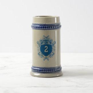 #2 Blue Shield Mug