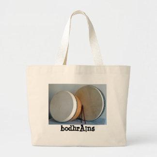 2 bodhrans y 2 volquetes bolsas