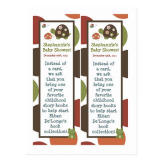 2 Book Marks Laguna Beach Turtle Frog Pond Animal Post Card