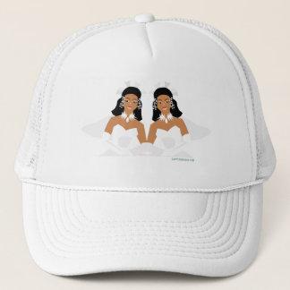 2 Brides Ethnic Trucker Hat