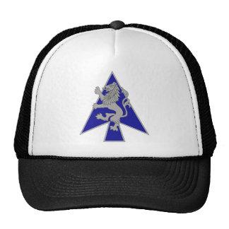 2 brigadas, 1ra división de infantería gorra