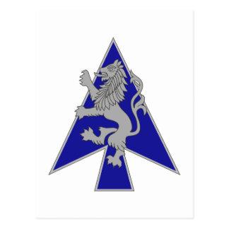 2 Brigade, 1st Infantry Division Postcard
