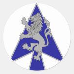 2 Brigade, 1st Infantry Division Round Stickers